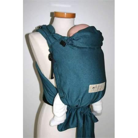 Marsupio regolabile half-buckle Turquoise | Storchenwiege