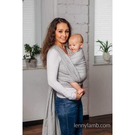 copy of Long Woven Baby wrap Larvikite | Lenny Lamb