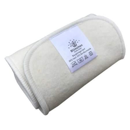 Inserto Large in canapa e cotone organico 3 strati|Blumchen