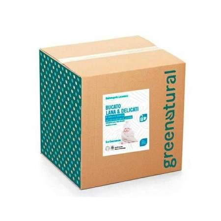 Bag in Box da 10 kg bucato Eco Bio per Lana e Capi Delicati | GreeNatural