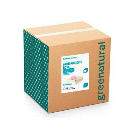 Bag in Box da 10 kg  Ammorbidente con olio essenziale di rosa | GreeNatural