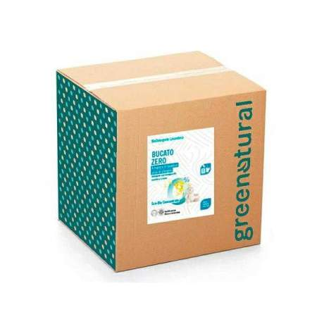 Bag in Box da 10 kg Bucato Zero Ipoallergenico Eco Bio | Greenatural