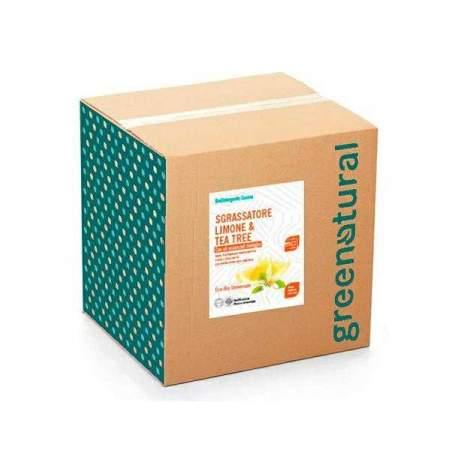 Bag in box da 10 kg Sgrassatore Eco Bio con olio essenziale bio di Limone e Tea Tree