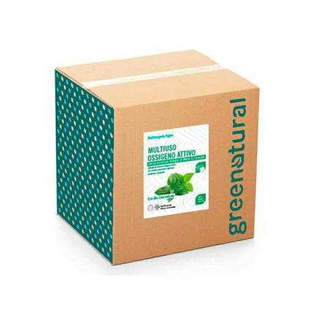 Bag in Box da 10 kg Detergente Liquido Multi superficie Eco Bio all'ossigeno attivo | GreeNatural