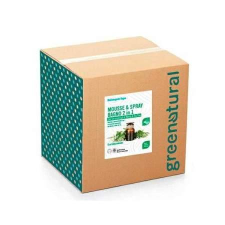 Bag in Box da 10 kg Mousse & Spray Bagno Eco Bio 2 in 1| GreeNatural