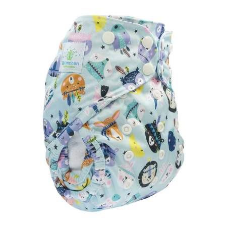 Cover Impermeabile Taglia unica con Bottoni Animal Spirit|Blumchen
