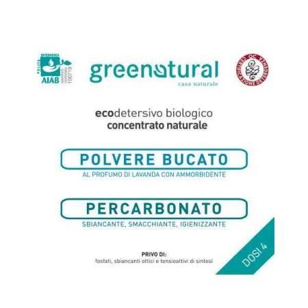 Kit Prova 4 dosi Polvere Bucato Lavanda + Percarbonato | GreeNatural