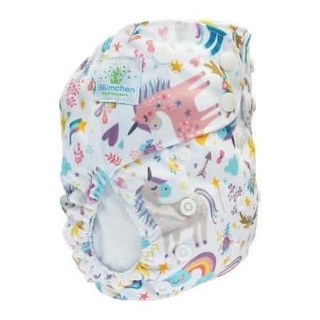 Cloth Nappy Pocket V2 One Size Unicorn | Blumchen