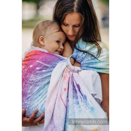 Ring sling Lenny Lamb Symphony Rainbow Light