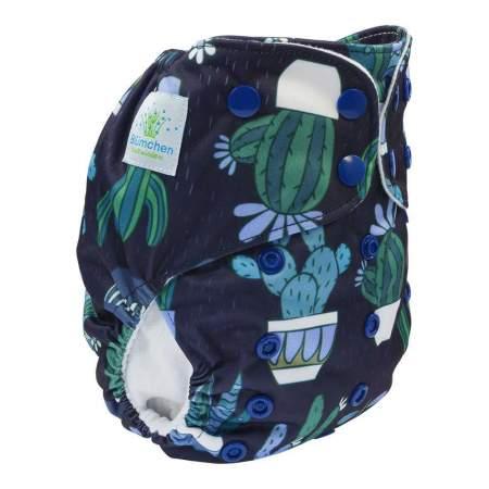 Cloth Nappy Pocket V2 One Size Cactus   Blumchen