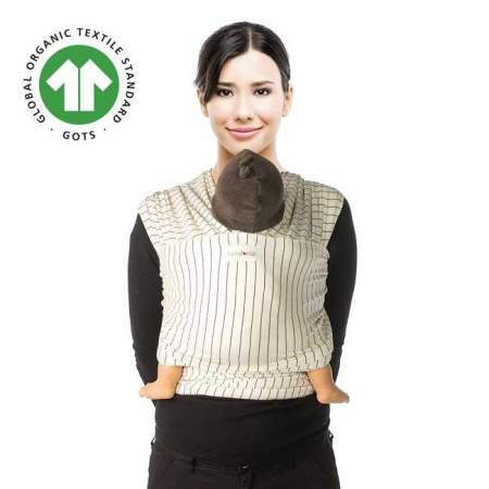 Fascia elastica Tricot Slen Design Cream Pinstripe | Babylonia