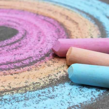Gessi Colorati Jumbo  set da 24 pezzi|  Primo
