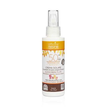 Crema Solare EcoBio SPF 50 in Bioplastica  | Officina Naturae