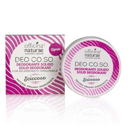 Deodorante Solido Deo Co.So Sciccoso  |  Officina Naturae