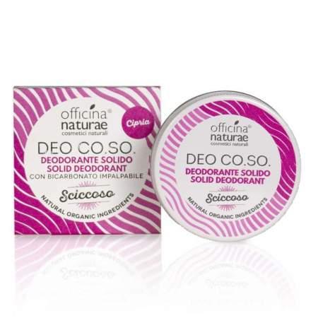 Deodorante Solido Deo Co.So Sciccoso  |  Officina Naturae