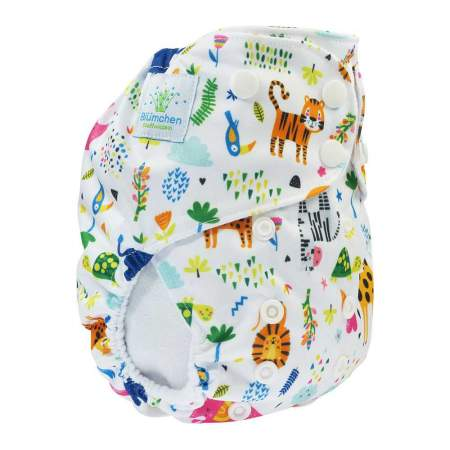 Cloth Nappy Pocket V2 One Size Zoo | Blumchen
