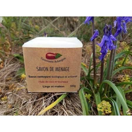 Detergente Solido per la Casa Artigianale 300 gr | Savonnerie Aubergine