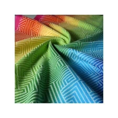Baby wrap sling Didymos Metro Rainbow