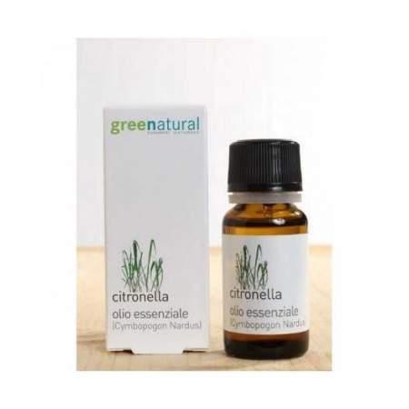 Olio essenziale di Citronella 10 ml  |  GreeNatural