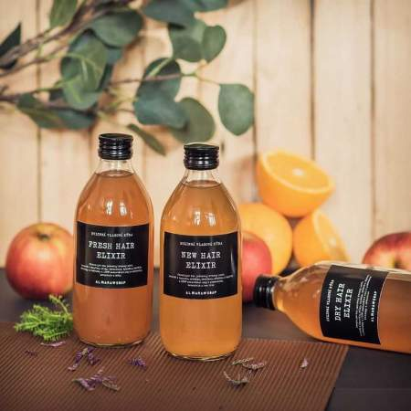 New Hair Elixir Risciacquo Acido Cuoio Capelluto Problematico  | Almara Soap