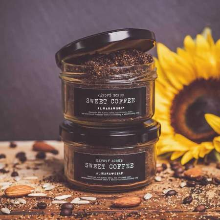 Sweet Coffee Scrub Naturale al caffè per corpo e viso  |  Almara Soap