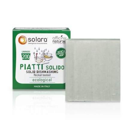 Detergente Solido Piatti Solara Menta Piperita  | Officina Naturae