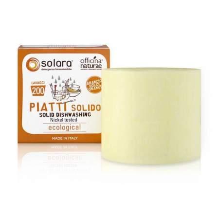 Detergente Piatti Solido Solara Arancio Dolce |  Officina Naturae