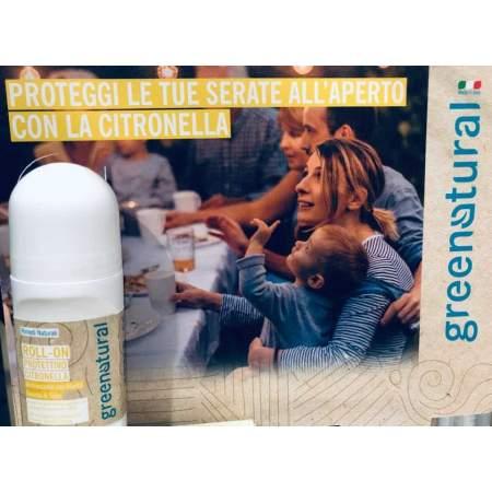 Roll-On Protettivo Anti Zanzare con oli essenziali |  GreeNatural