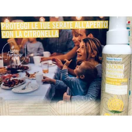 Spray Protettivo Anti Zanzare con olio essenziale di Citronella Biologico  |  GreeNatural
