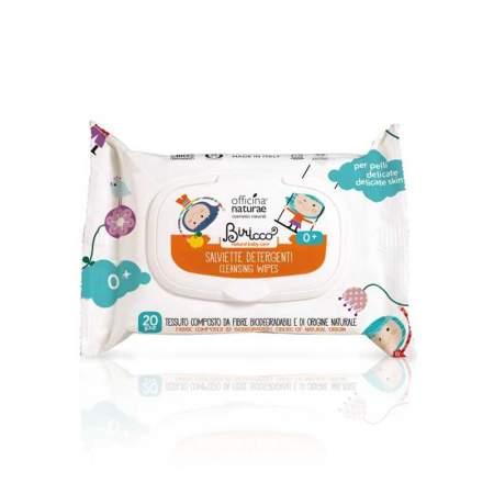 Salviette Detergenti con Mela Cotogna Biologica  |  Officina Naturae