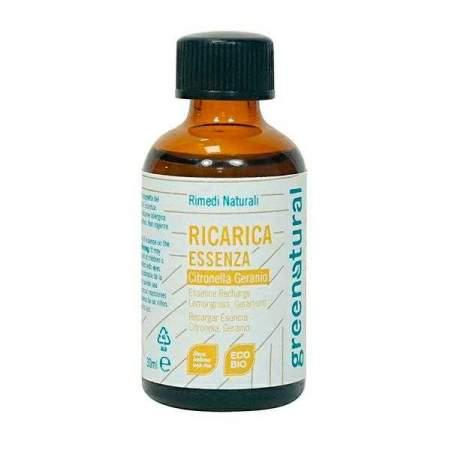 Ricarica Essenza Citronella Biologica per Diffusore | GreeNatural