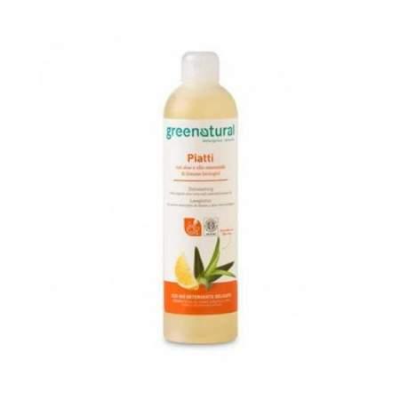 Detergente Piatti Liquido Eco Bio Aloe & Limone  |  GreeNatural