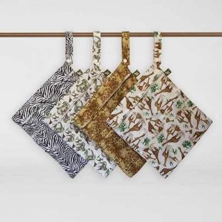 Wet Bag media  con doppia zip |  Little Lamb