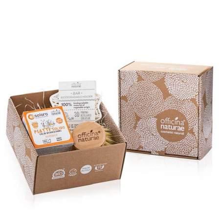 Gift Box Piatti Solido Arancio |  Officina Naturae