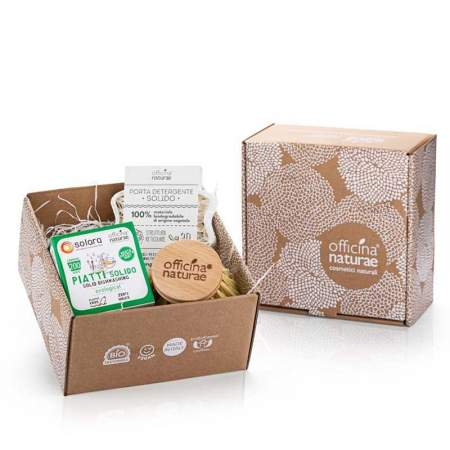 Gift Box Solid Dishwashing Peppermint |  Officina Naturae
