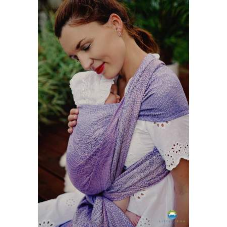 Woven Baby Wrap  Lilac Wildness | Little Frog