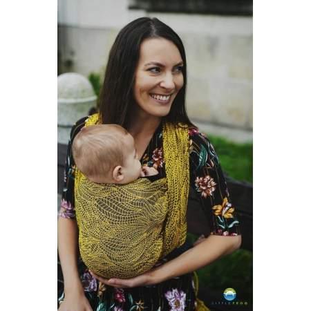 Woven Baby Wrap  Lemon Wildness | Little Frog