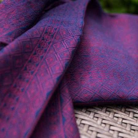 Fascia ad anelli Prima Blue Rouge Cotone Lino 1 R | Didymos