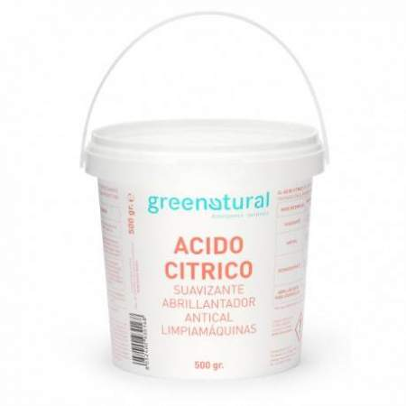 Citric acid Greenatural 500 gr