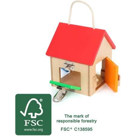 Casa delle Chiusure Piccola in legno certificato FSC |  Legler