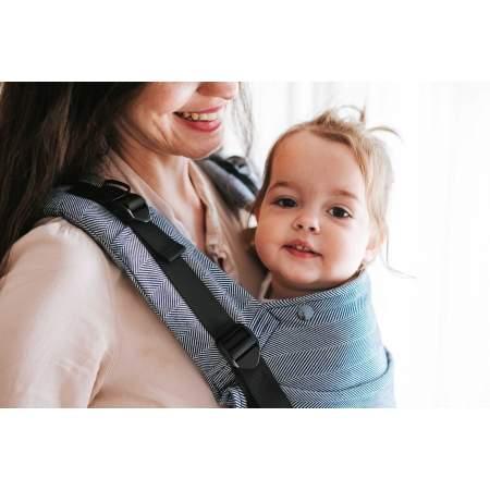 Baby carrier Multiage Plus Ink Herringbone | Kavka