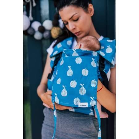Ergonomic Baby Carrier  Mini Fruits Blue |  BeLenka