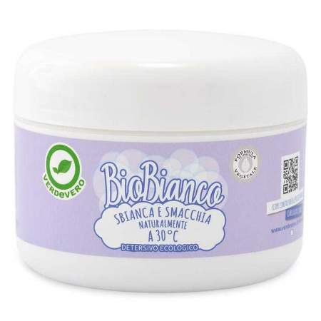 BioBianco Sbiancante naturale attivo a 30°C | VERDEVERO