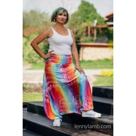 Pantaloni Harem LennyAladdin Symphony Rainbow Light