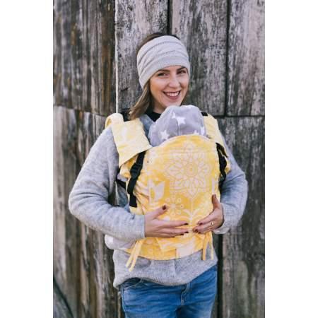 Baby Carrier Lenka 4 Ever Folk Yellow