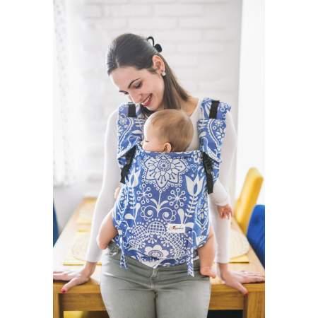 Baby Carrier Lenka 4 Ever Folk Blue