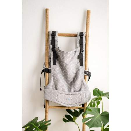 Baby Carrier  Multiage Plus Ink Stone Braid Bamboo| Kavka
