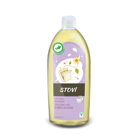 STOVI' Detersivo lavastoviglie ecologico da 750ml  | Verdevero