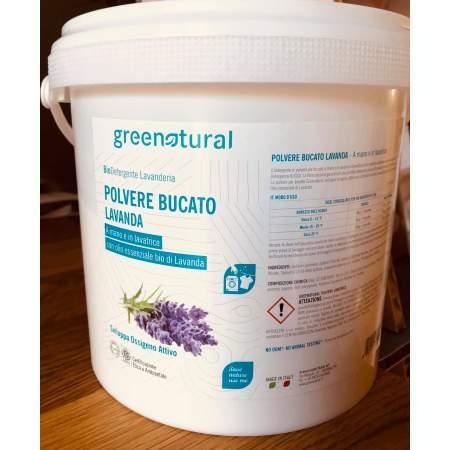 Polvere bucato concentrata al profumo di lavanda 2 kg | Greenatural