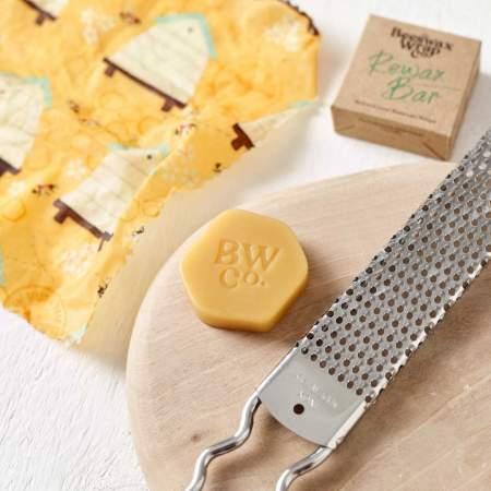 Blocco in Cera d'api per ri-cerare i fogli |  The Beeswax Wrap Company